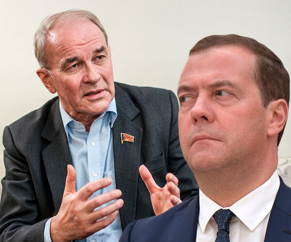 Вячеслав Тетёкин: в России пятая колонна не просто есть в правительстве Медведева, а она управляет страной