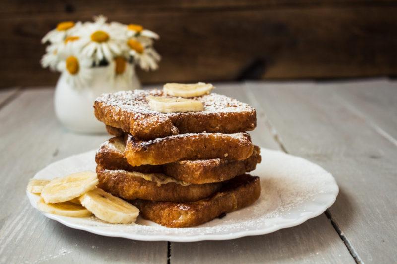 Изображение рецепта Сэндвич с бананом и корицей