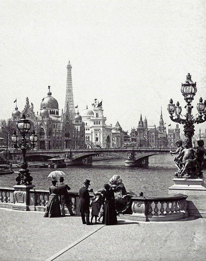 Старый Париж в фотографиях