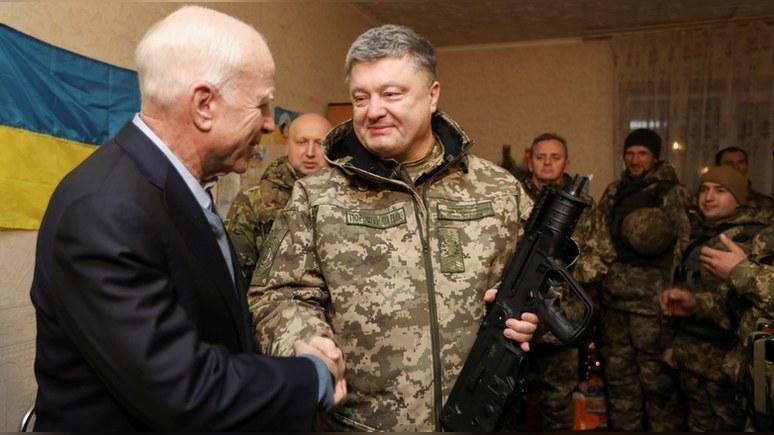Маккейн заверил украинцев, что Путину их никогда не одолеть