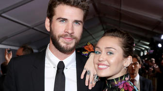 Miley Cyrus Is Very, VERY Excited About Liam Hemsworth's Birthday