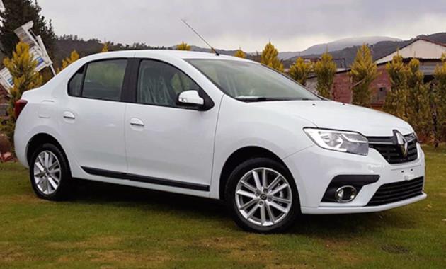 Появились новые фото рестайлингового Renault Logan