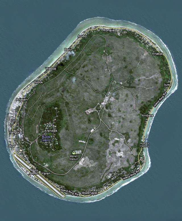 Науру - остров, погибший от …