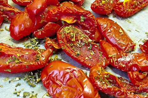 Вяленые помидоры. Рецепт