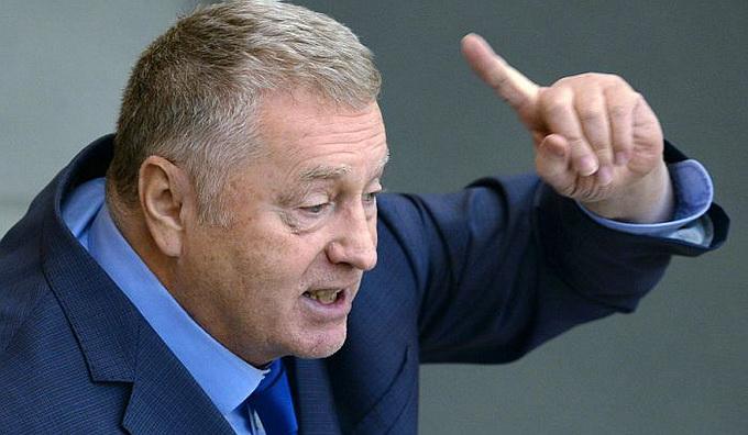 Жириновский предложил долбануть по Киеву