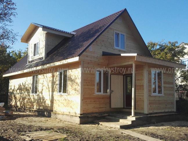 Экологичные деревянные дома …