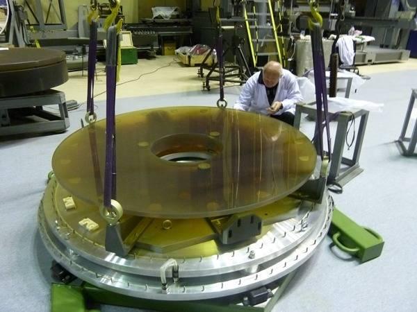 Техническое перевооружение производства оптического стекла