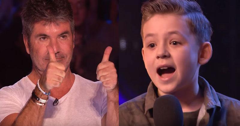 Когда этот мальчик запел песню Майкла Джексона, зрители и жюри захлопали стоя. Невероятный голос и харизма!