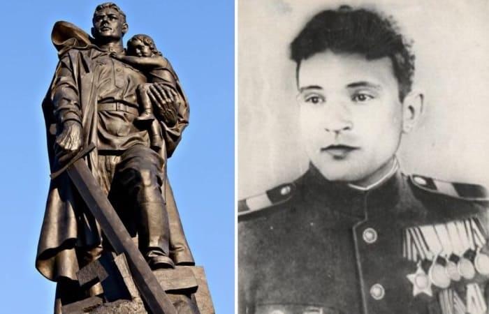 Забытый подвиг: какой советский солдат стал прототипом памятника Воину-освободителю в Берлине