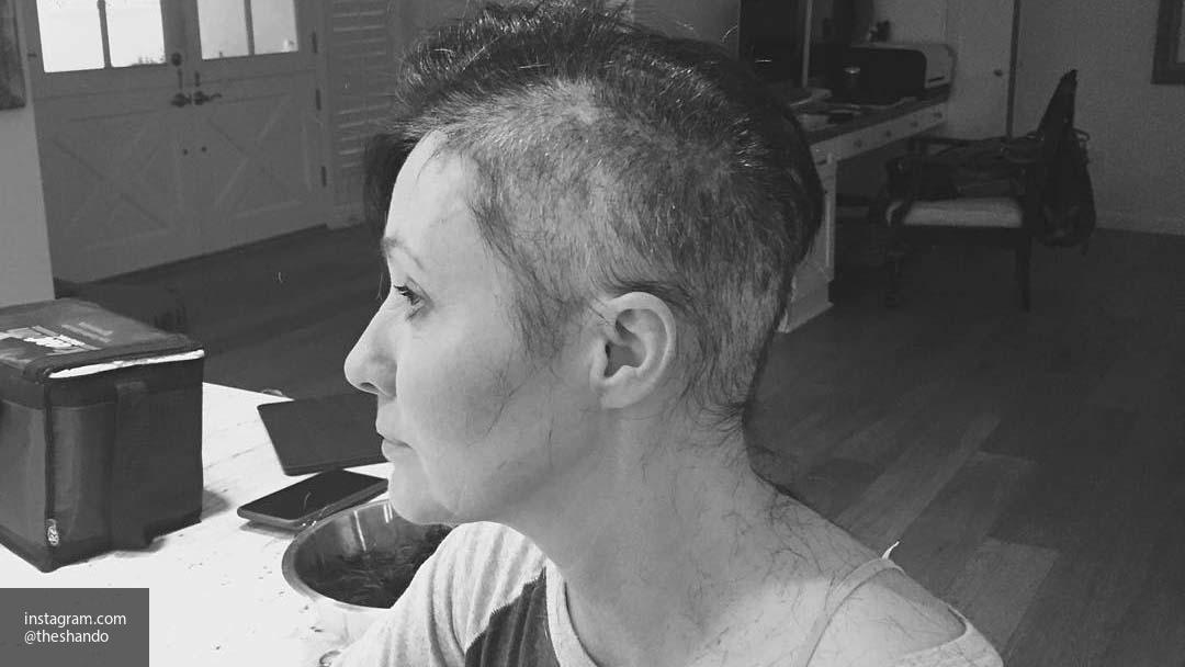 Шеннен Доэрти прошла все курсы химиотерапии для борьбы с раком
