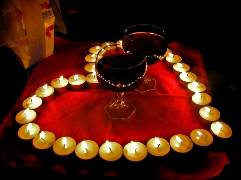 Как сделать романтический вечер парню