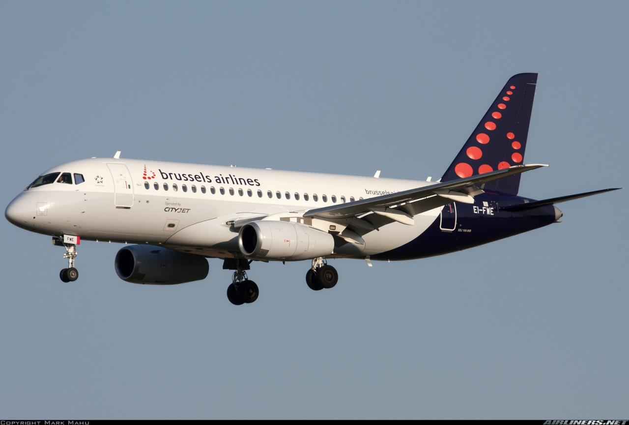 Brussels Airlines прекратили лизинг SSJ100