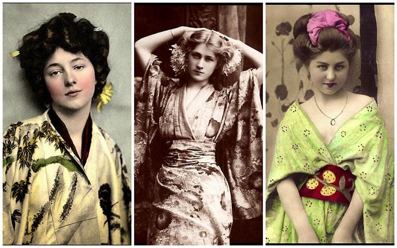 Гейши-иностранки в Японии начала 20-го века