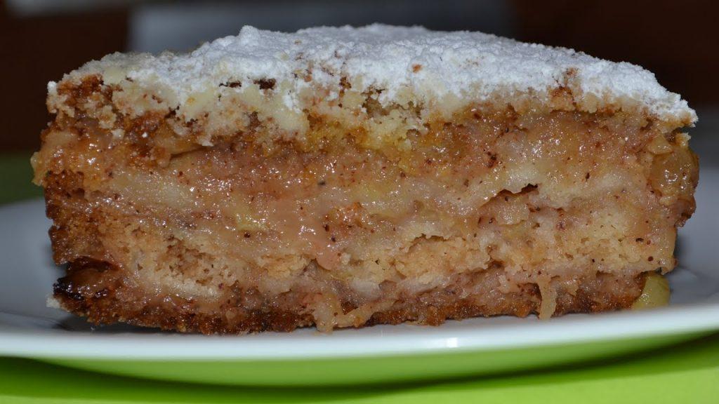 Оригинальный яблочный пирог — проще не бывает