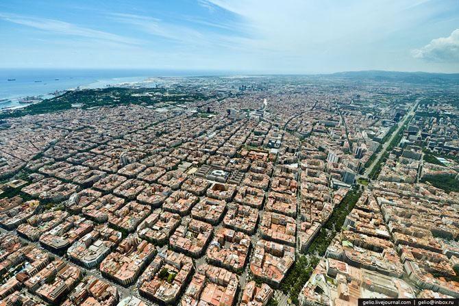 Барселона: взгляд из поднебесья