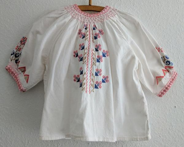 Peasant Blouse / Traditional Shirt