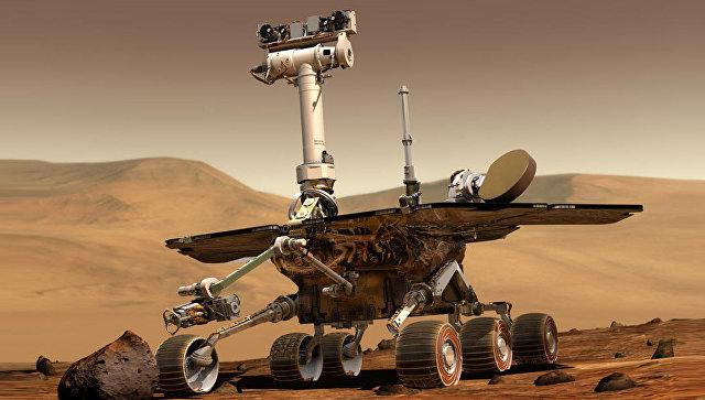 Марсоход Opportunity отпразднует в субботу 5000 день работы на Марсе