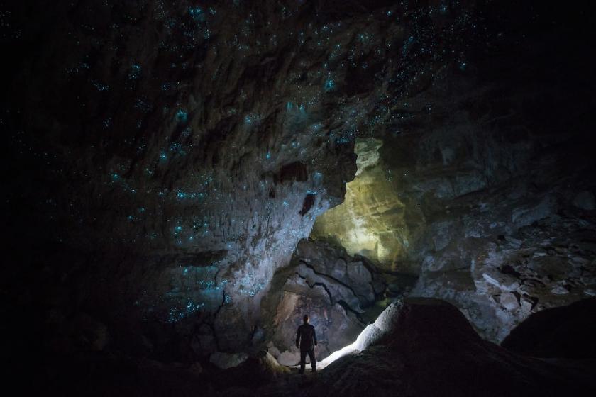 Вайтомо – пещеры светлячков в Новой Зеландии