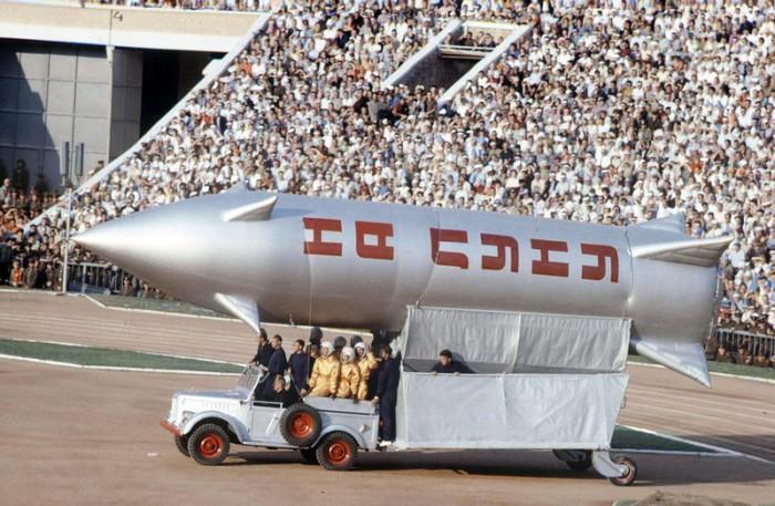 «Ракетная» спартакиада 1963 года
