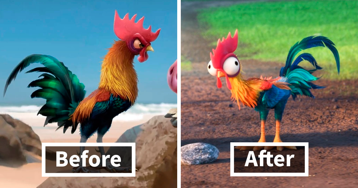 Tumblr User Explains Why Disney Changed Moana's Rooster From Smart To Dumb
