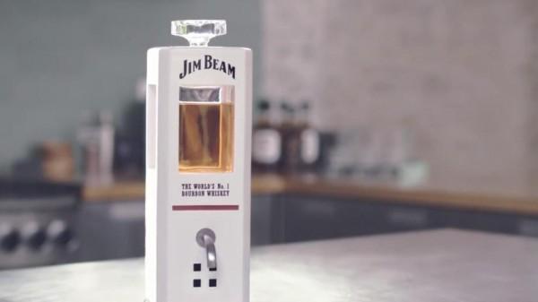 Jim Beam создала «умный» графин, наливающий виски по команде