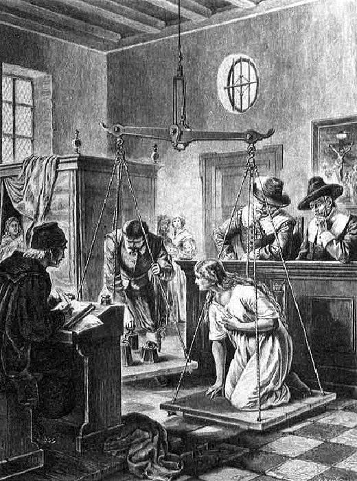 «Ведьмины весы»: как в эпоху Ренессанса отличали ведьму от благонравной дамы