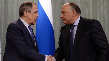 Главы МИД России иЕгипта обсудят пути укрепления двусторонних отношений