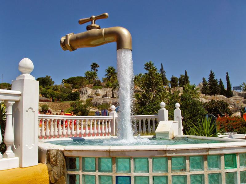 """""""Волшебный кран"""", Кадис, Испания город, достопримечательность, интересное, мир, подборка, страна, фонтан, фото"""