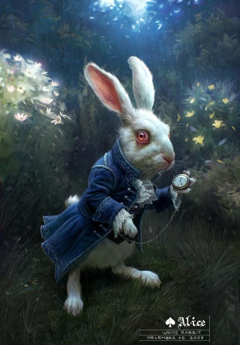 Алиса в стране чудес: Следуй за белым кроликом. Автор: Michael Kutsche.