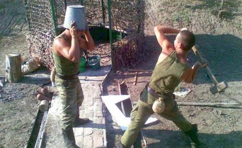 Армейские приколы. Смех цвета хаки
