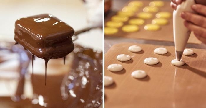 декор из шоколада для торта