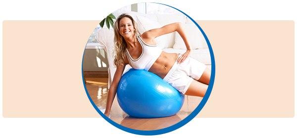 ПОХУДЕЙКА. Упражнения на фитболе для похудения