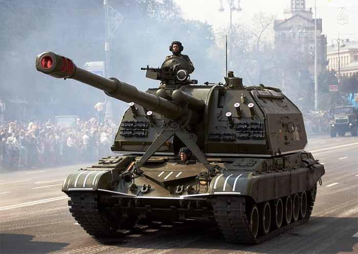 Ударная сила. Истребитель танков. САУ МСТА-С