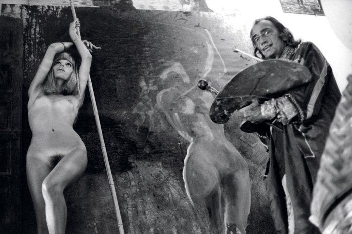 Сальвадор Дали и его муза - Аманда Лир