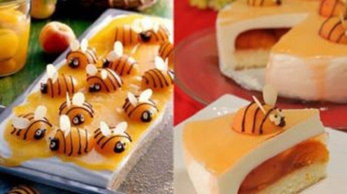 Очень вкусный пирог «Абрикосовые пчелки»