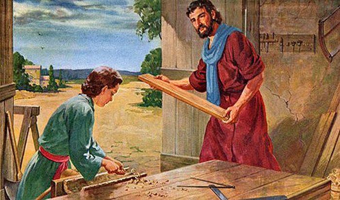 Дом, где вырос Иисус.