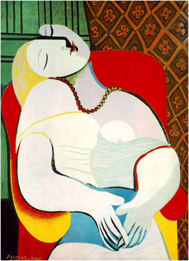 Залатанный шедевр Пикассо за…