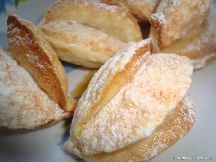 Воздушные и очень красивые пирожные Мидии