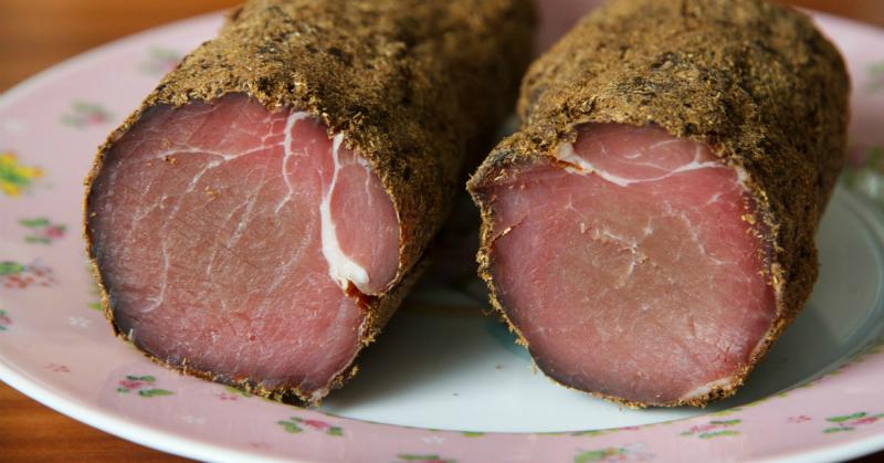 Сыровяленое мясо в домашних условиях: быстро, не хлопотно и очень вкусно!