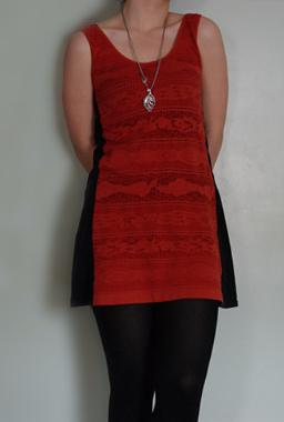 Переделки:  из старого платье новое