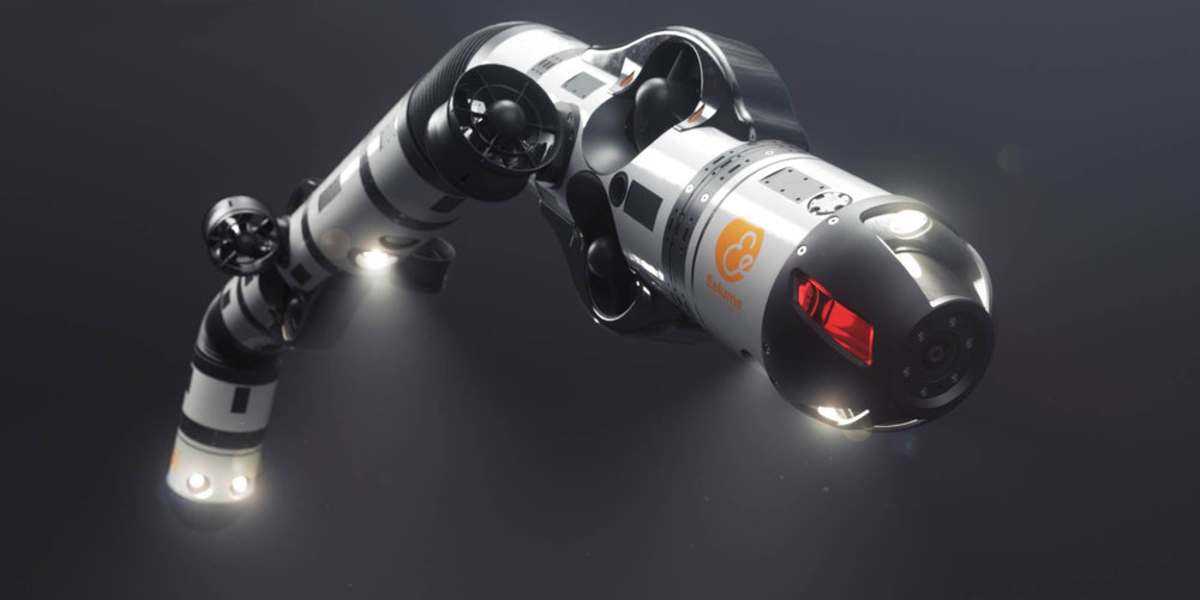 На видео показали робота — «морского змея»