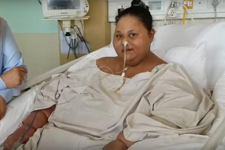 Самая толстая женщина в мире похудела в два раза