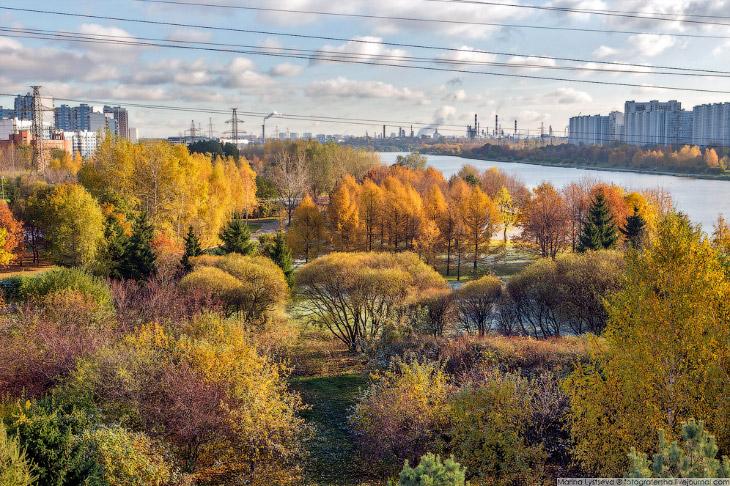 Прогулка по обновленному парку 850-летия Москвы