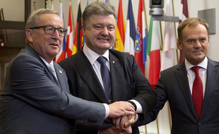 Оценка Запада: Украина далека от ЕС и НАТО