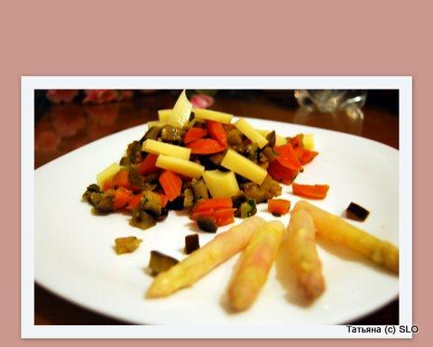 Баклажаны с морковкой и сыром. Фото-рецепт. Татьяна (с) SLO