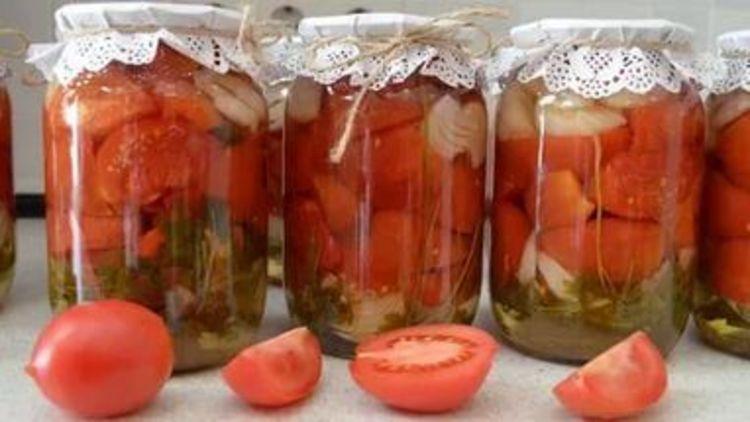 Продолжаем готовиться к зиме. Салат из помидоров