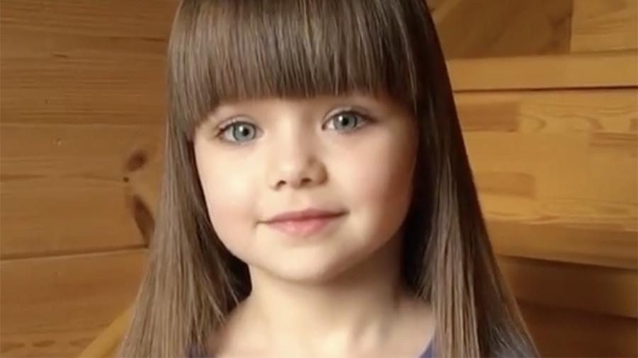 Шестилетнюю россиянку признали самой красивой девочкой в мире
