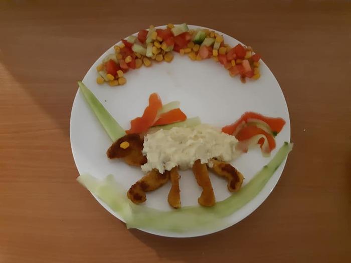 Как накормить ребёнка Отец, Еда, Необычная еда, Дочь, Длиннопост, Кулинар