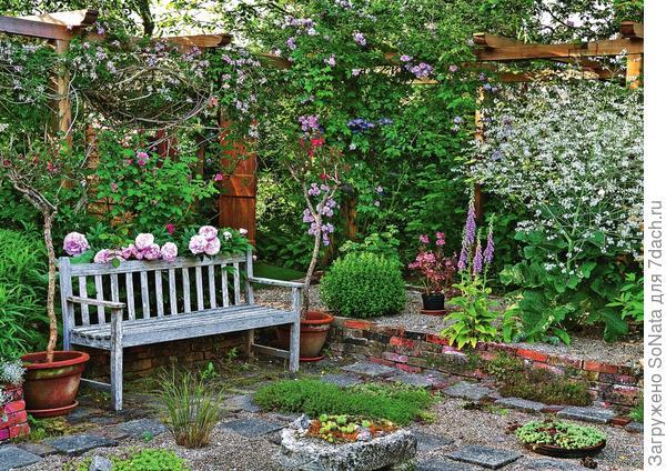 12 идей обустройства уютного уголка в саду