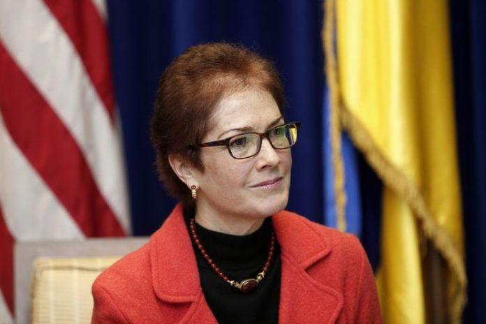 Посол США на Украине Мари Йо…
